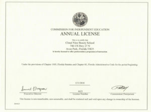 CNBS State License- 16 HR CE Cosmetology Florida